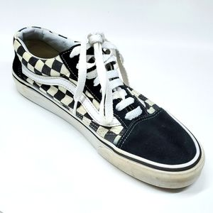 Vans Off The Wall Black White Checkered Sneakers 9